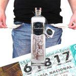 Loteria Alicante y sin un duro para Gin Tonic.