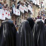 Las mujeres del bando moro de los Moros y Cristianos de Alcoy deberán llevar burka