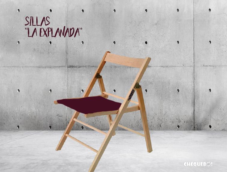 Silla la explanada, una colección exclusiva para los alicantinos.