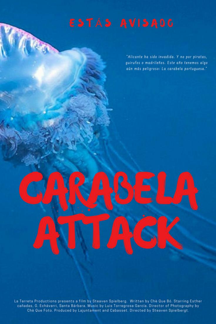 póster película carabela attack