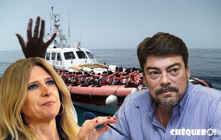 El Alcalde de Alicante entre la espada y la pared por naufragio del Aquarius.