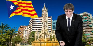 Puigdemont reivindica que la Plaza de los Luceros pertenezca a Cataluña
