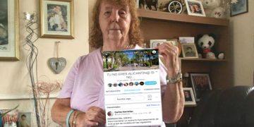 La británica que se quejó de que en Benidorm había demasiados españoles la vuelve a liar esta vez en el popular grupo de Facebook Tú no eres Alicantin@ si no...