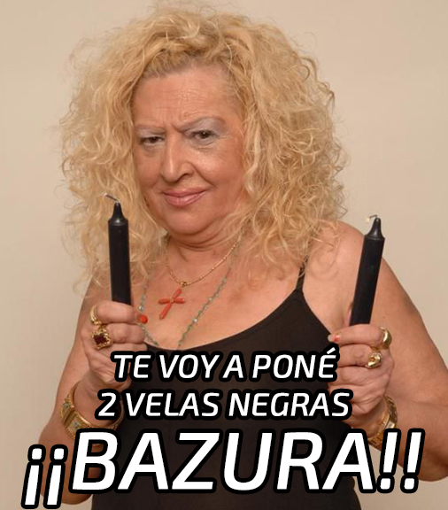 La Pitonisa Lola Montero.