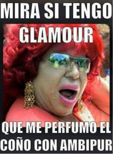 Carmen de Mairena y su glamour.