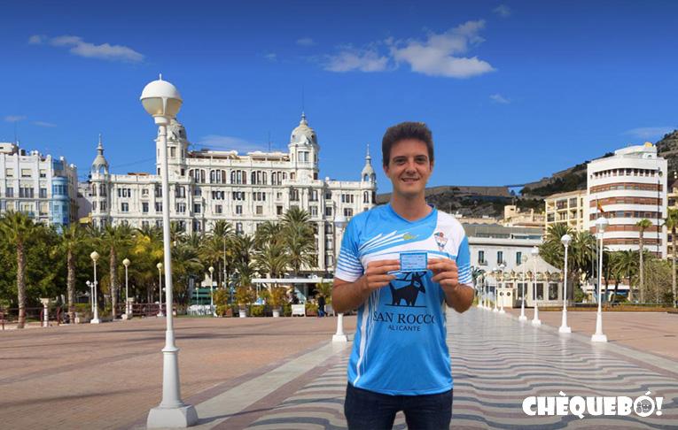 Vicente Buades seguidor Alicante CF.