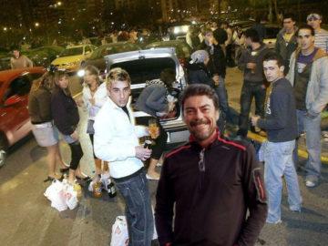 Luis Barcala siempre ha mantenido una guerra contra el botellón en Alicante