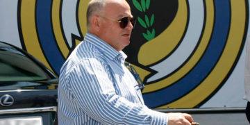 Juan Carlos Ramirez con su puro