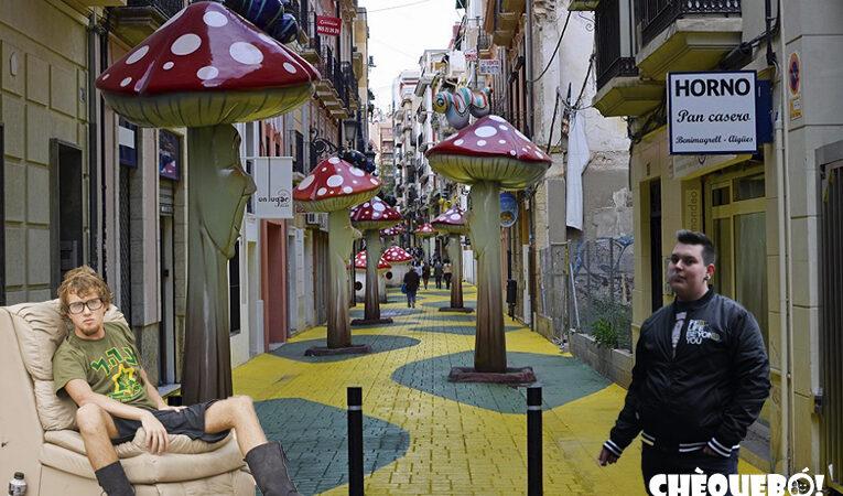«Alicante, guapa y alucinógena»: el nuevo lema para fomentar el turismo en la Calle de las Setas
