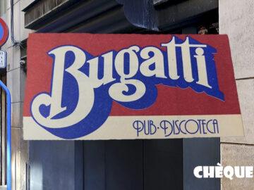 Fachada discoteca Bugatti de Alicante